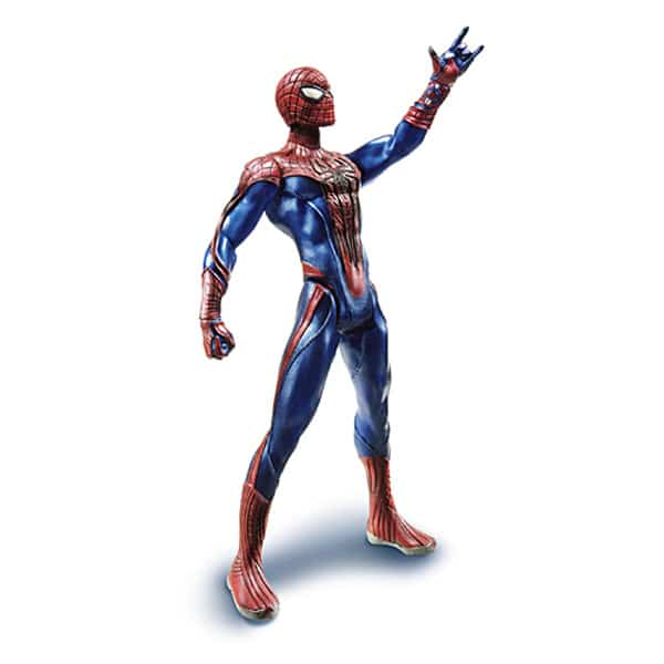 spiderman figurine 22cm spiderman hasbro king jouet h ros univers hasbro jeux d. Black Bedroom Furniture Sets. Home Design Ideas
