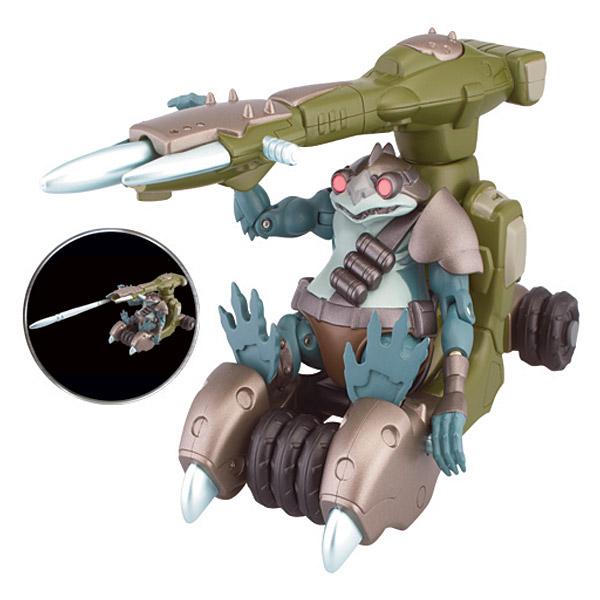 Thundercats véhicule et figurine Lizard Cannon et Lizard