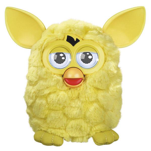 jeu jouet poupees peluches interactives ref  furby hot jaune