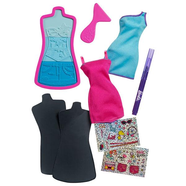 Atelier Mode de Barbie Robes Rose et Bleue