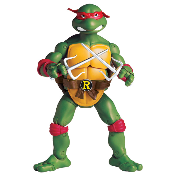 tortue ninja figurine articul e 16 cm raphael giochi. Black Bedroom Furniture Sets. Home Design Ideas