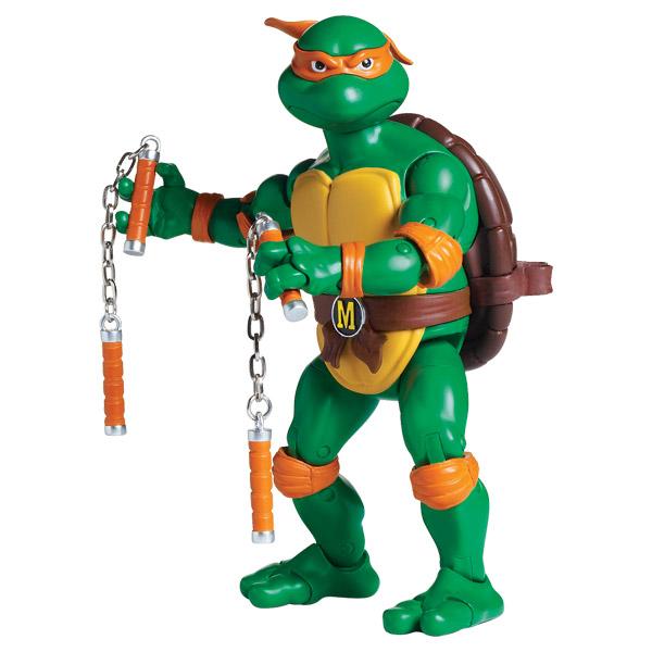 Tortue ninja figurine articul e 16 cm michelangelo giochi for Repere des tortue ninja