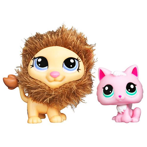 Petshop duo lion et chaton little petshop king jouet - Petshop chaton ...