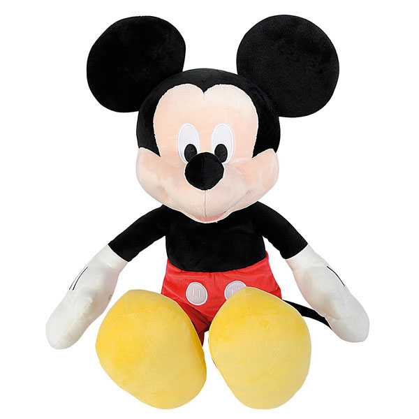 Peluche Mickey 43cm Simba Dickie King Jouet Peluches