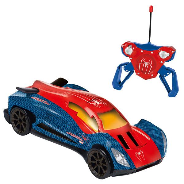 Voiture t l command e spiderman - Jeux de spiderman voiture ...