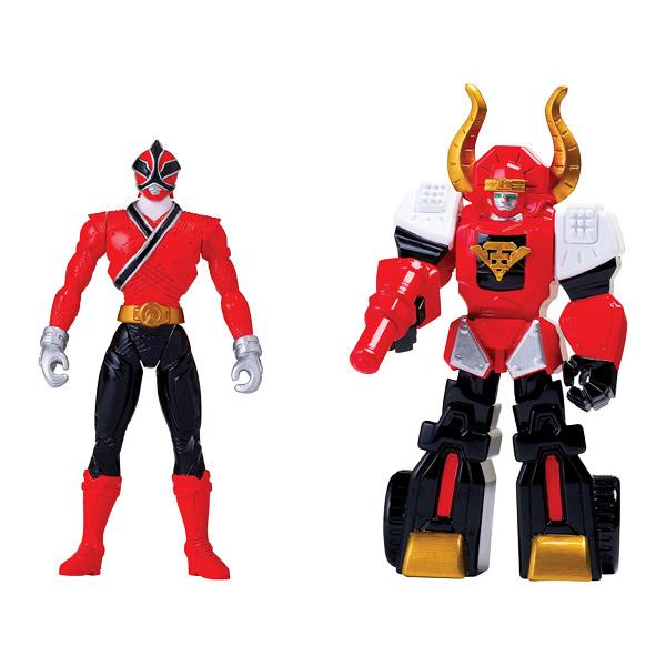 Power rangers figurine zord armure bull megazord 10 cm - Jeux de power rangers super samurai ...