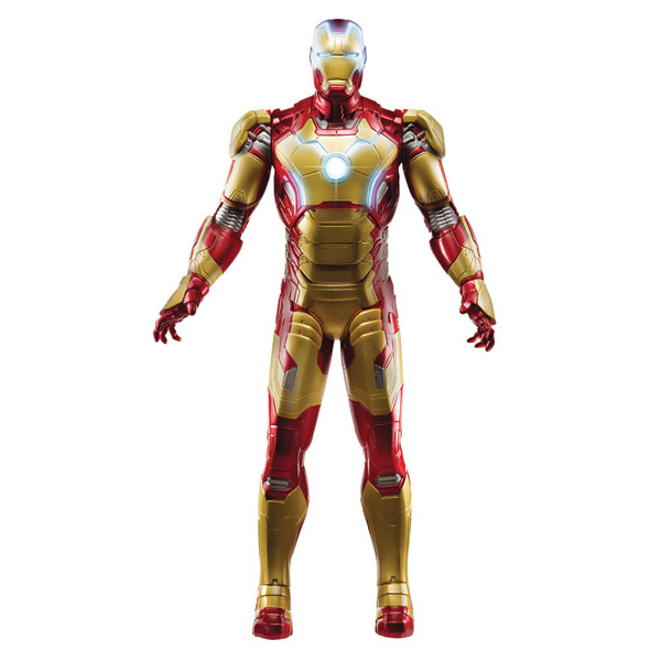 ironman 3 figurine electronique 25cm iron man hasbro king jouet h ros univers hasbro jeux. Black Bedroom Furniture Sets. Home Design Ideas