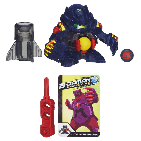 B-Daman Figurine Thunder Bearga
