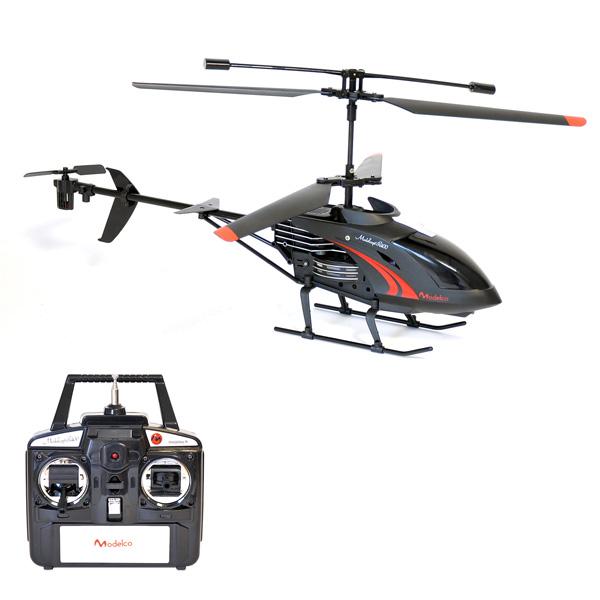 Hélicoptère Noir 40cm R/C 3 voies