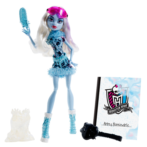 monster high poup e art class abbey bominable mattel. Black Bedroom Furniture Sets. Home Design Ideas