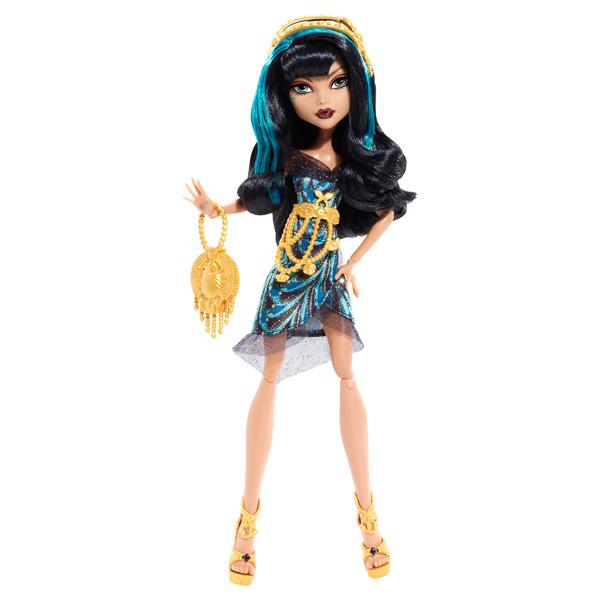 Monster High Hauntlywood Tapis noir Cleo De Nile