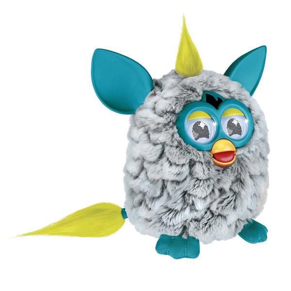 furby gris et bleu turquoise hasbro king jouet peluches interactives hasbro poup es peluches. Black Bedroom Furniture Sets. Home Design Ideas