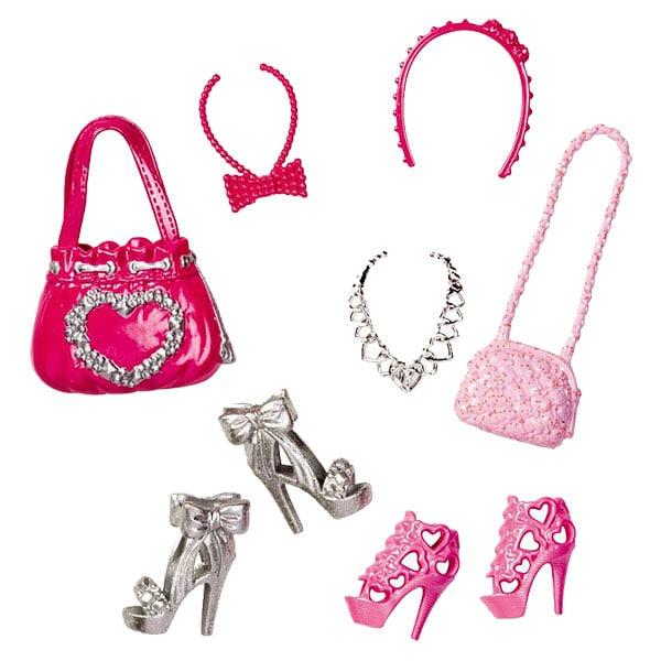 Les Jours De Barbi : Barbie chaussures et accessoires bcn mattel king jouet