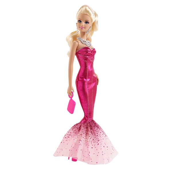 Barbie Amies Mode robe de soirée BFW19 Mattel  King Jouet, poupées  mannequin Mattel , Poupées \u0026 peluches