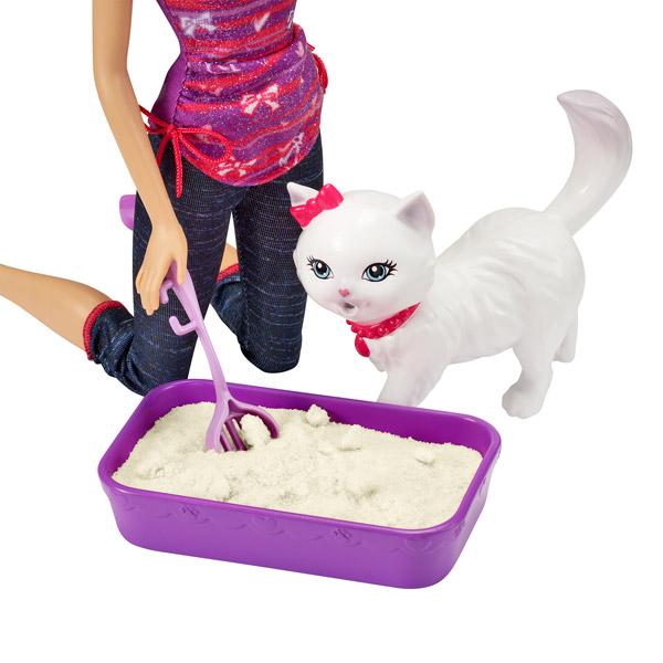 Barbie animaux rigolos barbie et son chat blissa mattel - Le chat de barbie ...