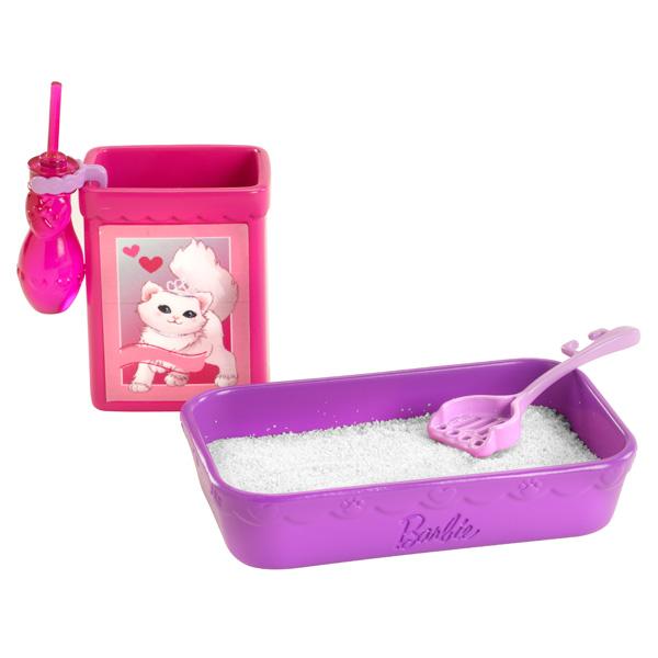 Barbie animaux rigolos barbie et son chat blissa de mattel - Le chat de barbie ...