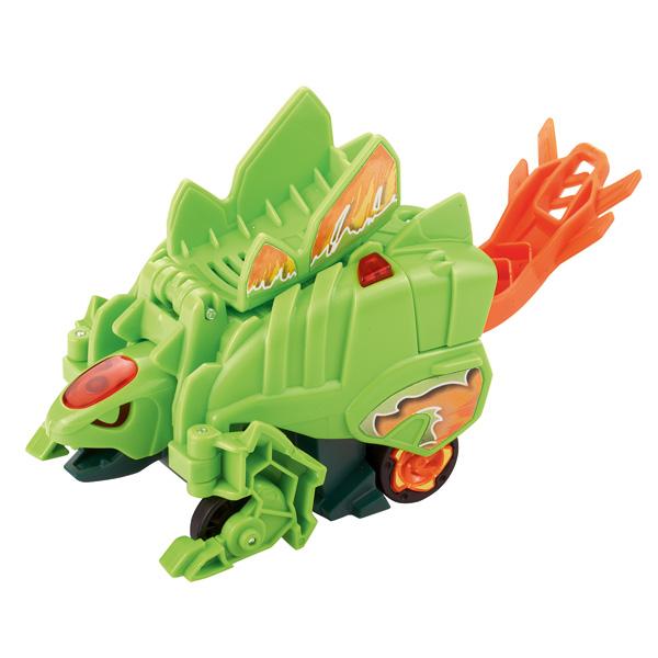 Switch and Go Dinos Turbo Dinos Xzor le turbo stegosaure
