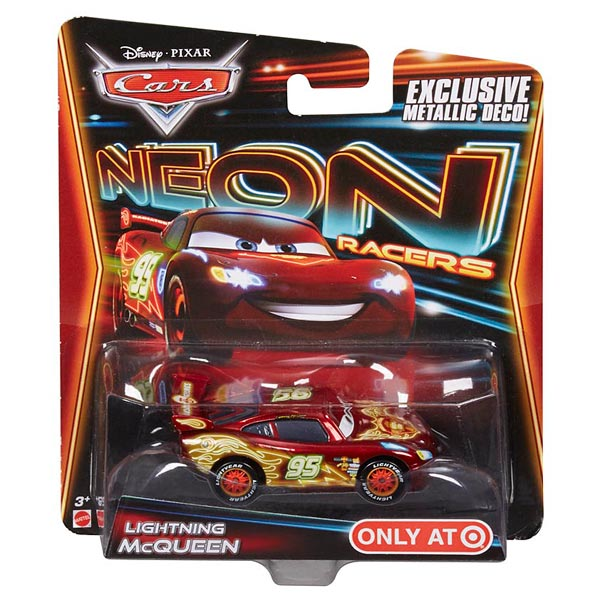 cars v hicule neon flash mcqueen mattel king jouet voitures radiocommand es mattel. Black Bedroom Furniture Sets. Home Design Ideas