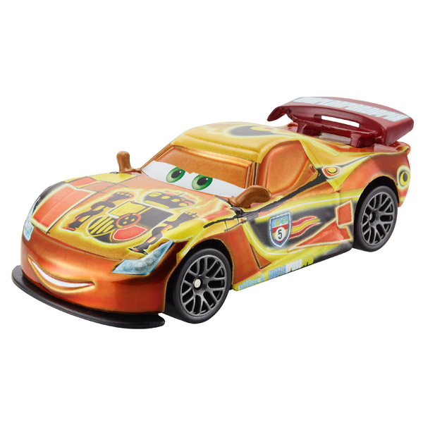 Cars v hicule neon miguel camino mattel king jouet for Cars autootjes