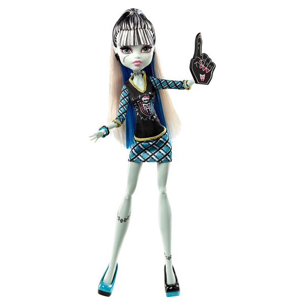 monster high poup e frankie stein mattel king jouet poup es mannequin mattel poup es peluches. Black Bedroom Furniture Sets. Home Design Ideas