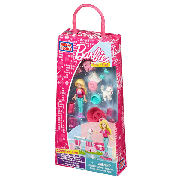 MegaBloks Barbie et son chaton