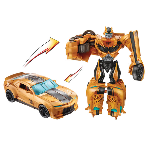 transformers 4 rid deluxe attackers bumblebee hasbro king jouet mondes imaginaires hasbro. Black Bedroom Furniture Sets. Home Design Ideas