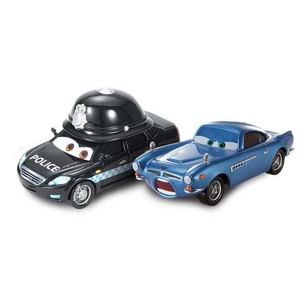 Véhicule Cars 2 Doug Speedcheck et Palace Danger Finn McMissile