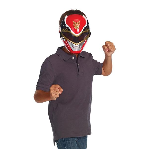 Masque MégaForce Power Rangers Rouge