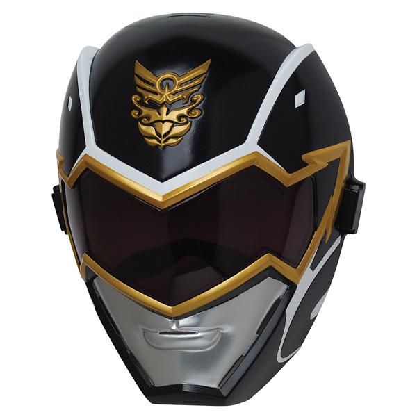 Masque m gaforce power rangers noir bandai king jouet - Masque de power rangers ...