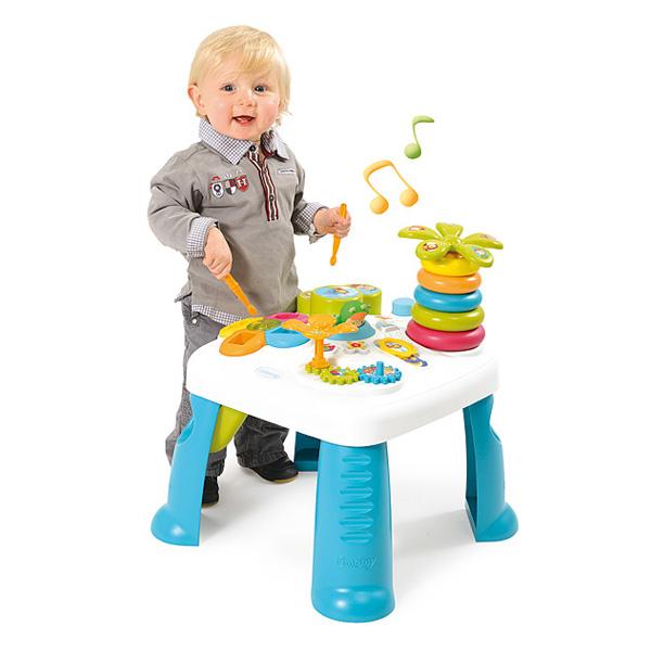 table d 39 activit s cotoons bleu smoby king jouet activit s d 39 veil smoby jeux d 39 veil. Black Bedroom Furniture Sets. Home Design Ideas