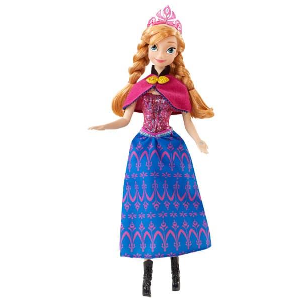 Princesse f rique reine des neiges anna de mattel - Anna princesse des neiges ...