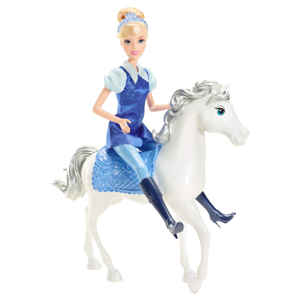 Princesse disney cendrillon et son cheval magique mattel - Princesse cheval ...