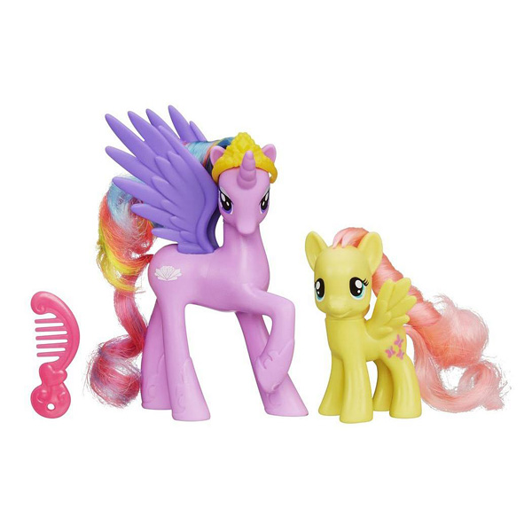 My Little Pony Princesse Sterling et Fluttershy