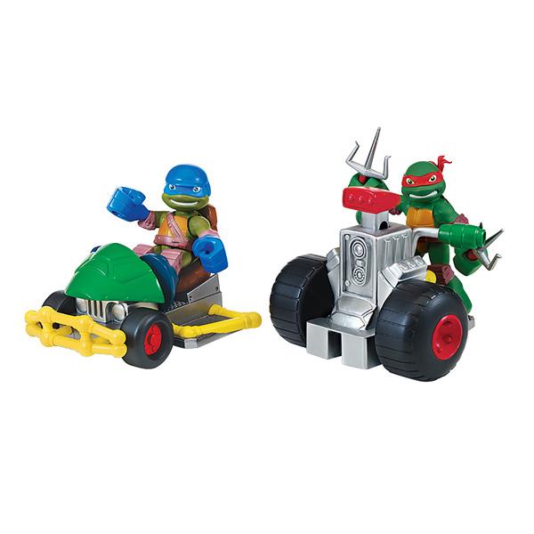 Tortue ninja v hicule et figurine 6 cm leonardo buggy - Vehicule tortue ninja ...