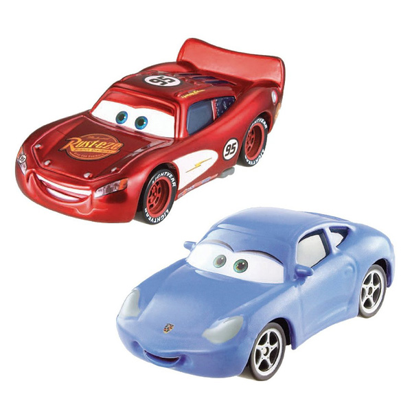 Cars flash mcqueen et sally mattel king jouet les autres v hicules mattel v hicules - Images flash mcqueen ...