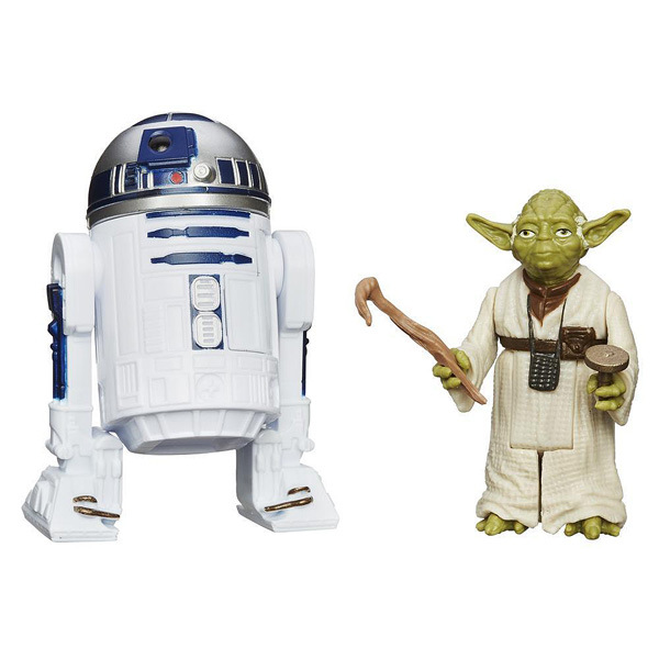 Star Wars Rebels Figurine R2D2 et Yoda
