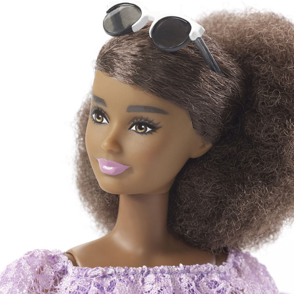 Barbie Fashionistas N°93 robe violette