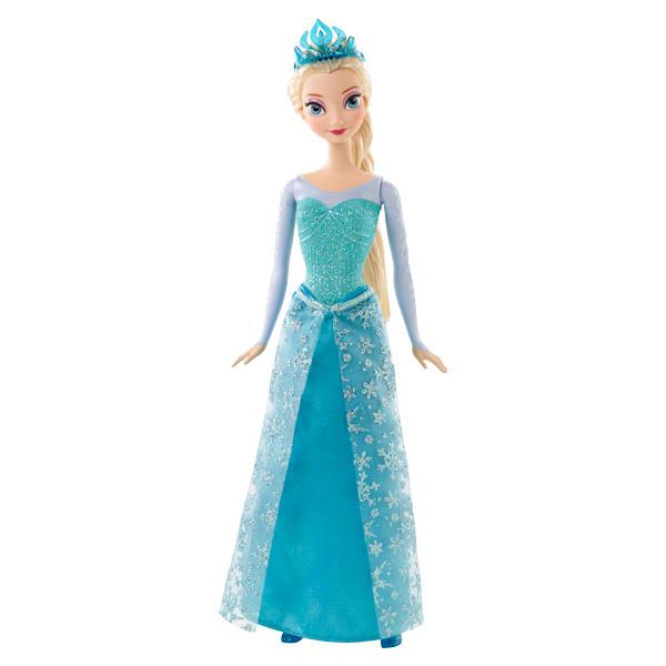 Poupée scintillante La Reine des Neiges Elsa