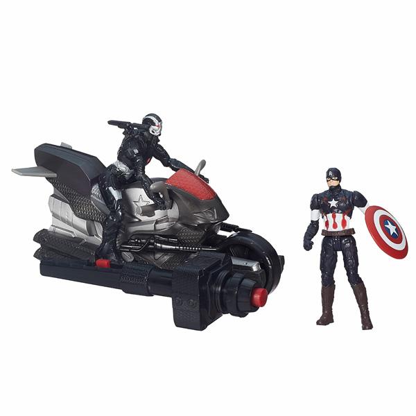 Avengers Figurine Deluxe 5 cm Captain America & War Machine