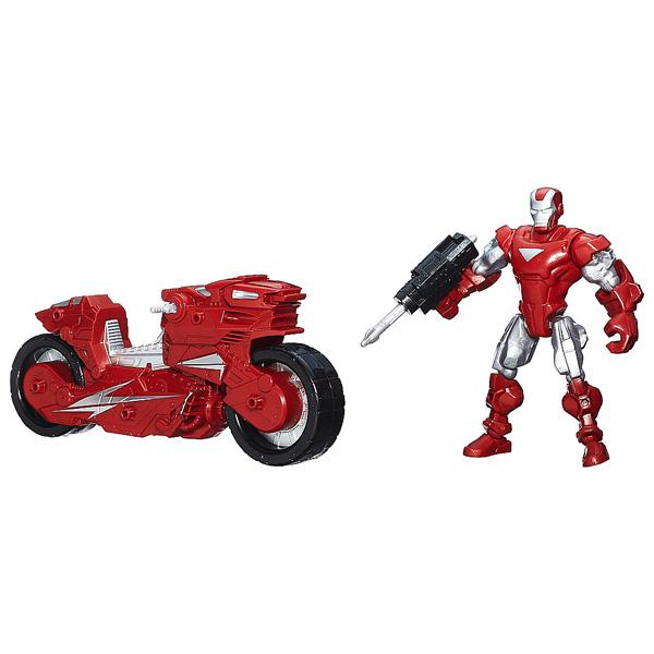 Avengers Figurine et son véhicule - Iron man