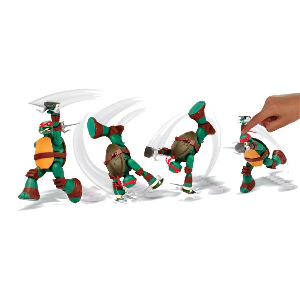 Tortue Ninja Attaque figurine 14 cm Raphael