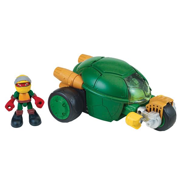 Tortue ninja v hicule deluxe et figurine 6 cm raphael - Vehicule tortue ninja ...