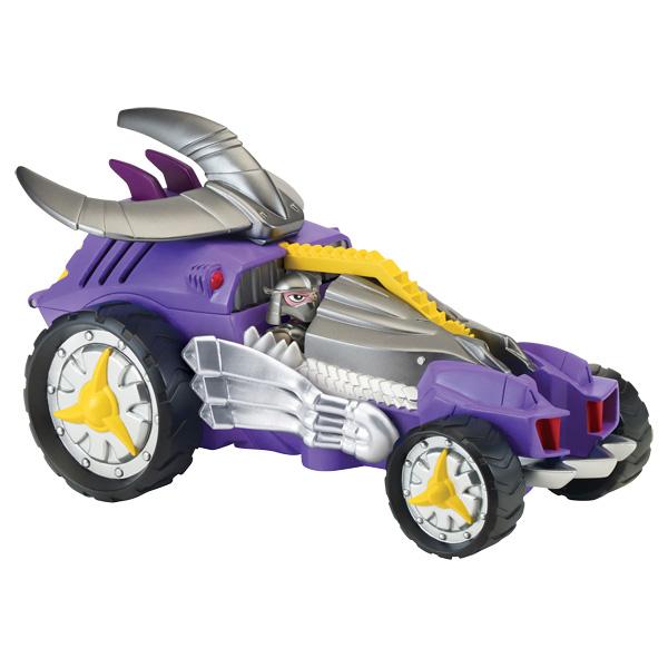 Tortue ninja v hicule deluxe et figurine 6 cm shredder - Vehicule tortue ninja ...