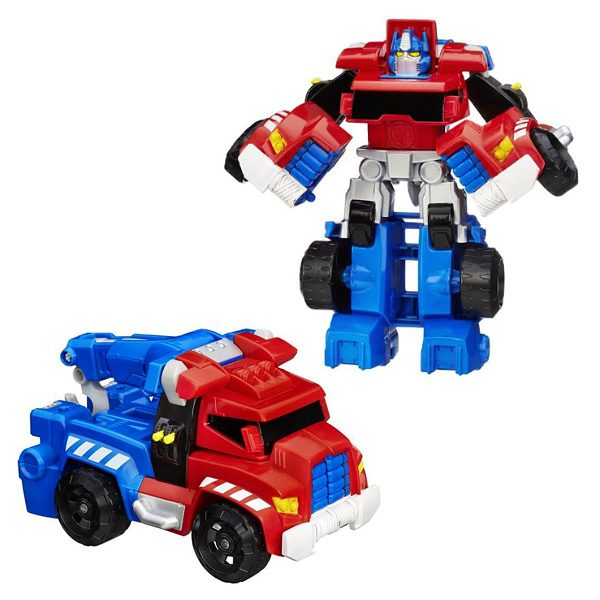transformers rescue bots optimus prime b1835 playskool king jouet h ros univers playskool. Black Bedroom Furniture Sets. Home Design Ideas