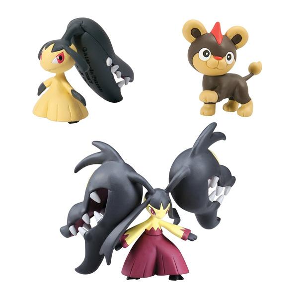 Pokemon XY Méga-Mysdibule, Hélionceau, Mysdibule