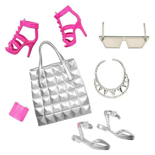 barbie chaussures et accessoires cfx32 mattel king jouet. Black Bedroom Furniture Sets. Home Design Ideas