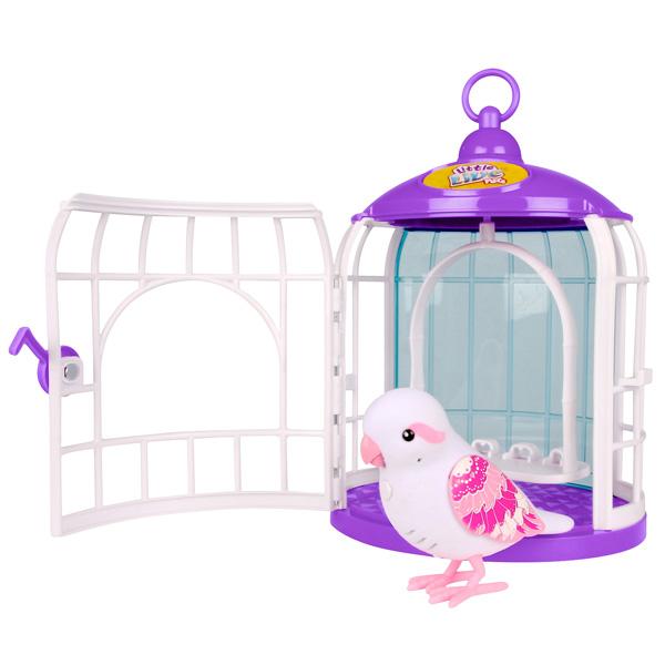 Little Live Pets Isabella Rina avec Cage