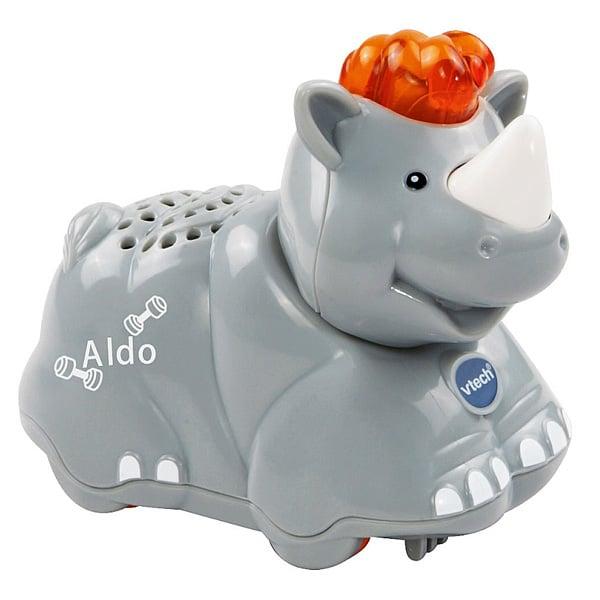 Tut Tut animo Aldo le rhino super costaud