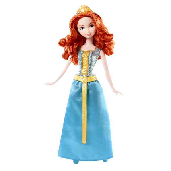 Poupée Paillettes Disney Princesses Merida