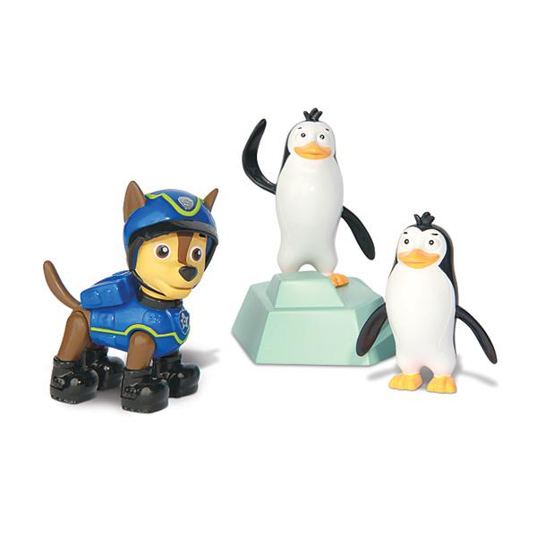 figurine pat 39 patrouille avec spy chase et les pingouins spin master king jouet figurines spin. Black Bedroom Furniture Sets. Home Design Ideas